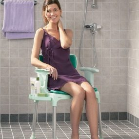 Etac Swift Multi Shower Chair with Armrests