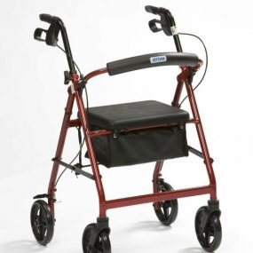 Days 105 Four Wheel Rollator with Bag (medium)
