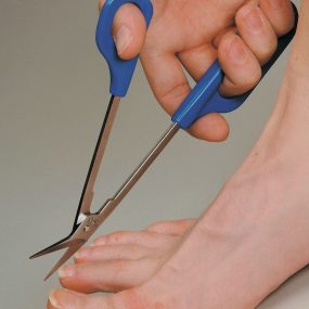 Long Handled Toe Nail Scissors