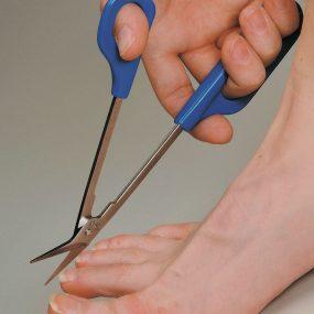 Long Handled Toe Nail Scissors