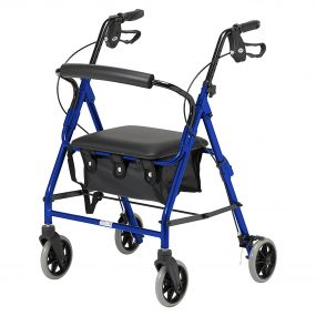 Days 102 Four Wheel Rollator with Bag (extra small)