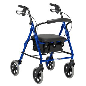 Days 103 Four Wheel Rollator with Bag (small)