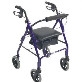 Days 106 Four Wheel Rollator with Bag (Large)