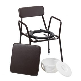 Drive 180 Stacking Commode