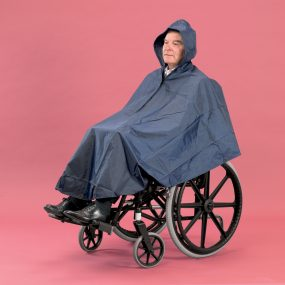 Deluxe Lined Wheelchair Poncho