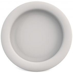 Ornamin Plate with Sloped Base