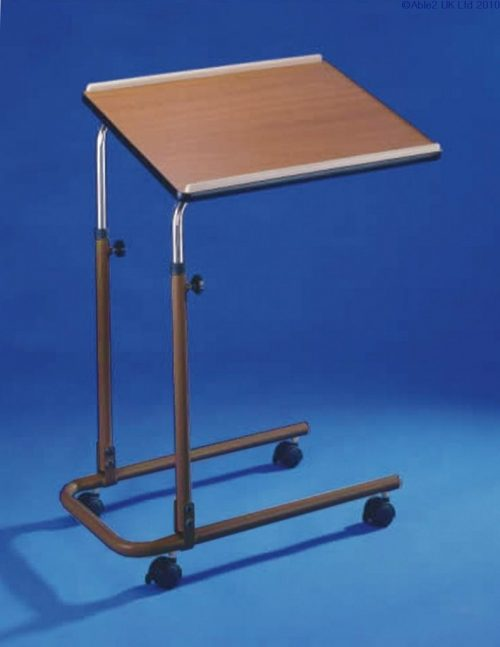 Over Bed / Chair Table with castors