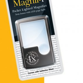 Pocket LED Magnigfier