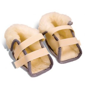 Woolana Fleece Heel Protectors (pair)