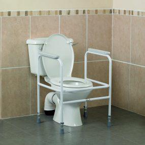 Homecraft Adjustable Steel Toilet Surround